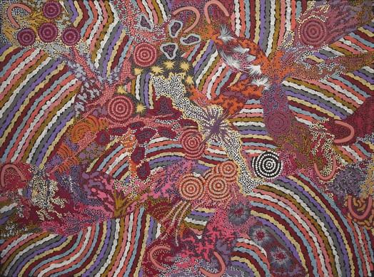 Grandmothers Country by Gabriella Possum Nungurrayi