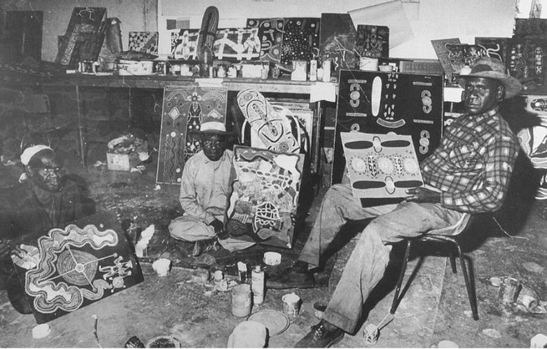 5 Papunya Great Painting Room