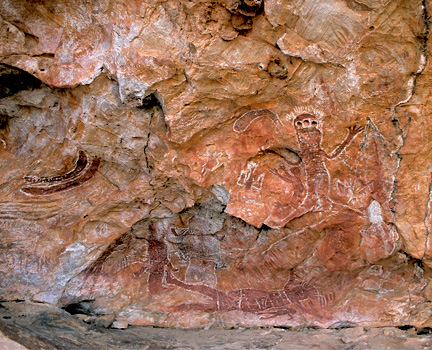 Aboriginal Rock Art on El Questro Station - Tourism Western Australia