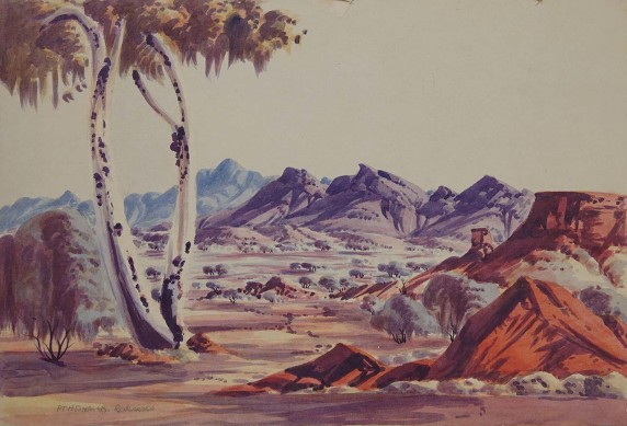 West MacDonnell Ranges by Athanasius Renkarako