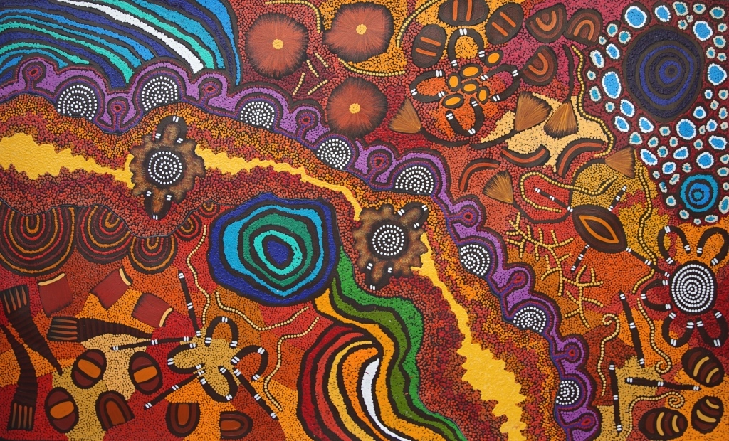Australian Aboriginal Art Symbols Their Meanings Japingka Gallery