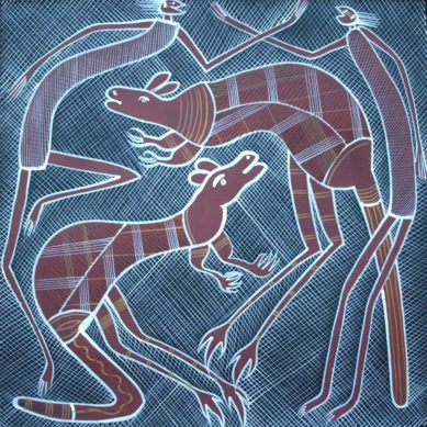 Mimis and Kangaroo Spirits by Edward Blitner