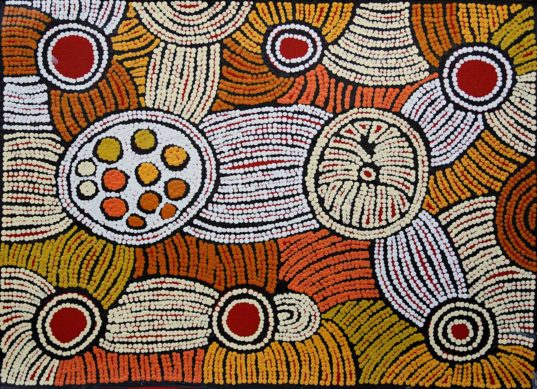 Ancestral Country by Fiona Young Napanangka