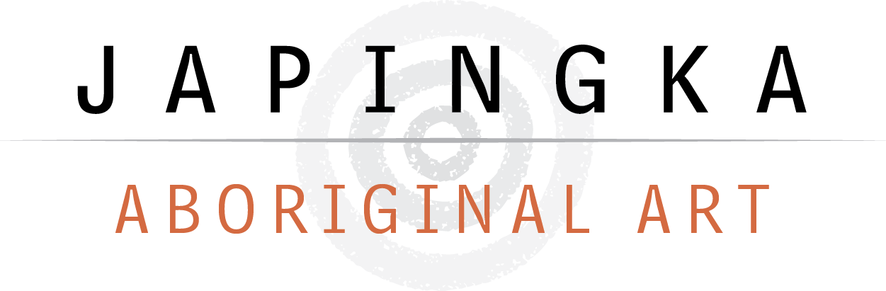 Logo for Japingka Gallery, Perth