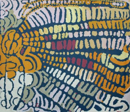 Yarla Jukurrpa – Bush Yam Dreaming by Lorna Napurrula Fencer