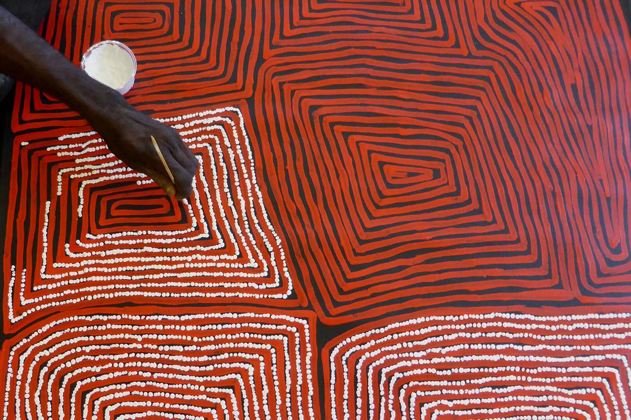 History And Emergence Of Aboriginal Art Japingka Gallery