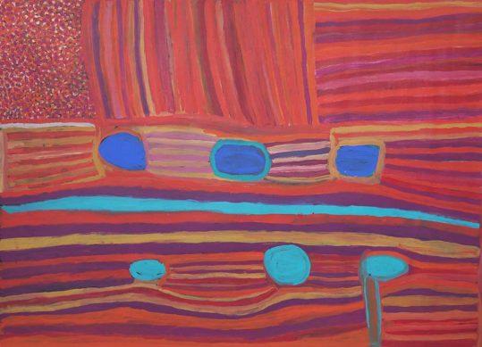 Warla Country Waterholes by Nada Rawlins
