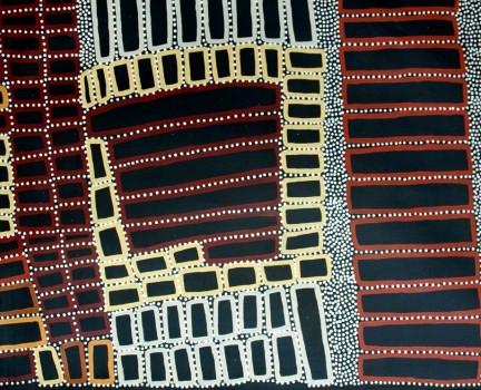 Aboriginal Art - Walala Tjapaltjarri