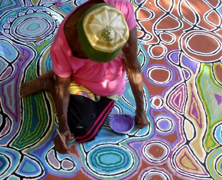 Australian Aboriginal Dot Art - Example 2